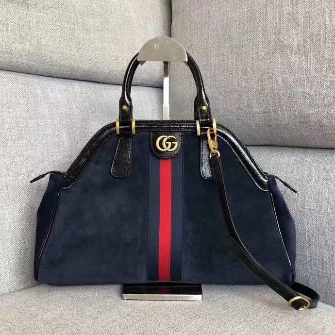 AAA Replica Gucci RE(BELLE) Top Handle Bag Black