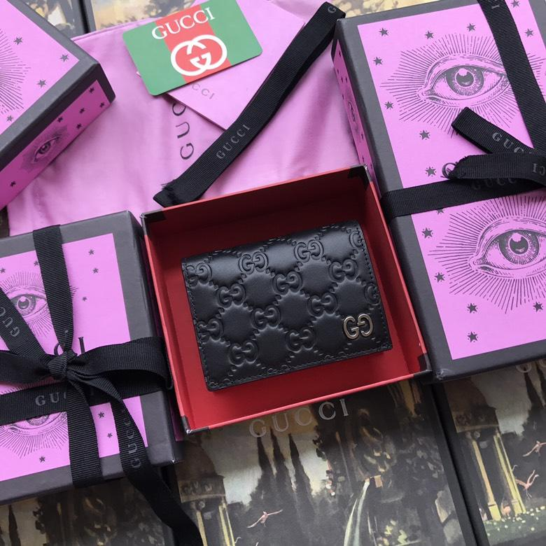 Best Quality Gucci 522869 Mens Signature Card Case