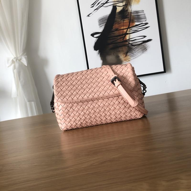 Bottega Veneta Women Small Messenger Bag Pink