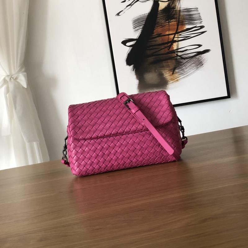 Bottega Veneta Women Small Messenger Bag Rose