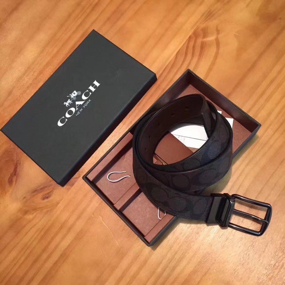 Coach Men Leather Reversible Belt 001
