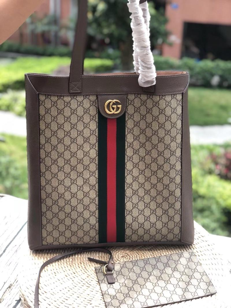 Gucci 519335 Ophidia Soft GG Supreme Large Tote Bag