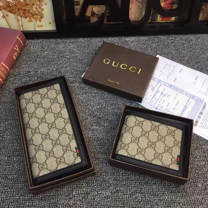 Gucci 891 Men Suit Money Wallet