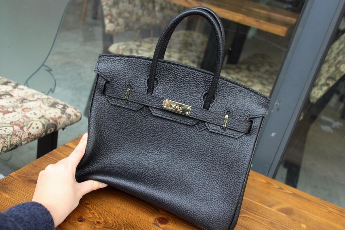 Hermes Birkin Togo Calfskin Handbag 30cm and 35cm Black