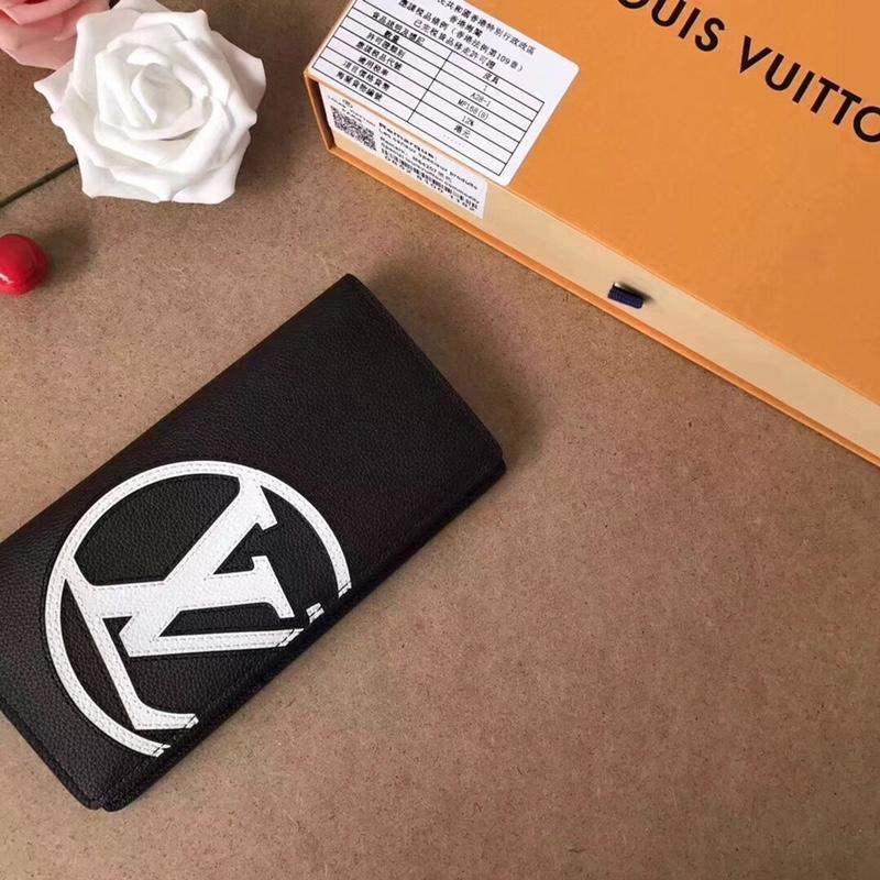 Louis Vuitton M67741 Multiple Wallet Taurillon Leather Initials