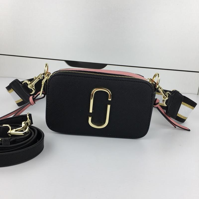 Marc Jacobs Snapshot Small Camera Bag Black
