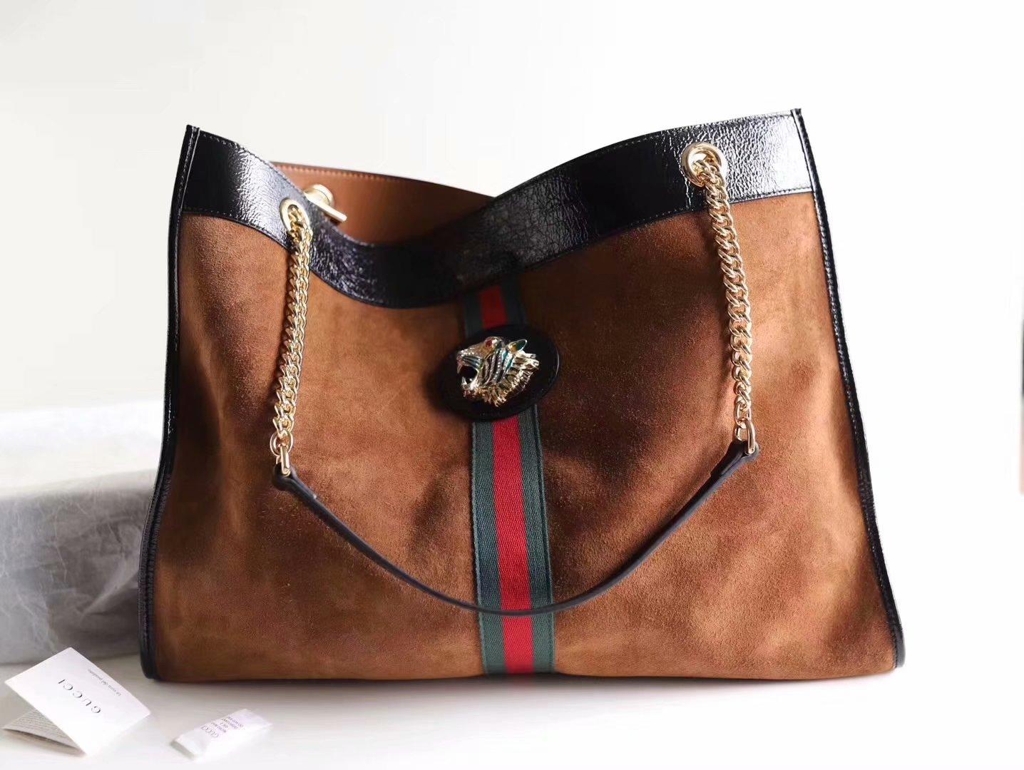 NEW Replica Gucci 737219 Rajah Large Tote Women Bag