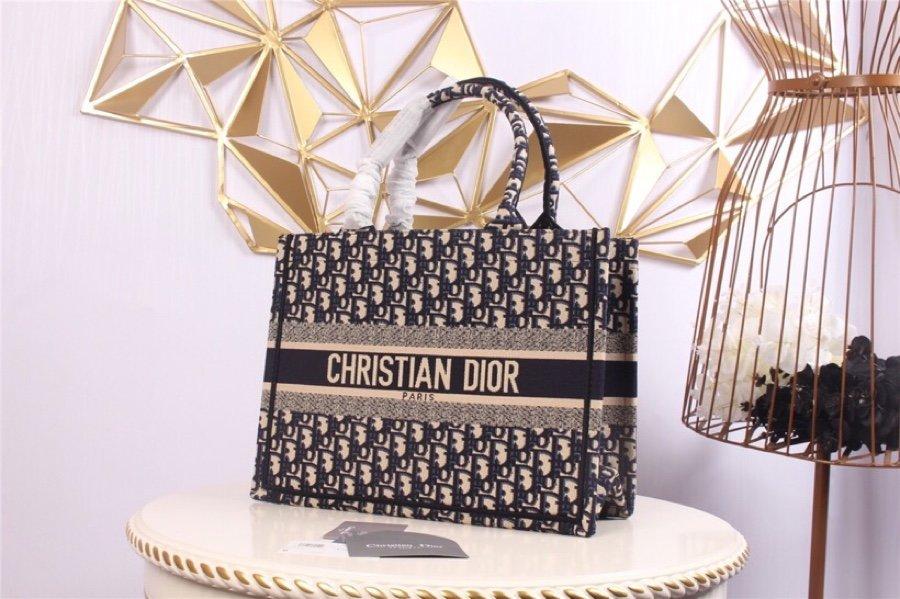 Replica Blue Dior Book Tote Dior Oblique Bag