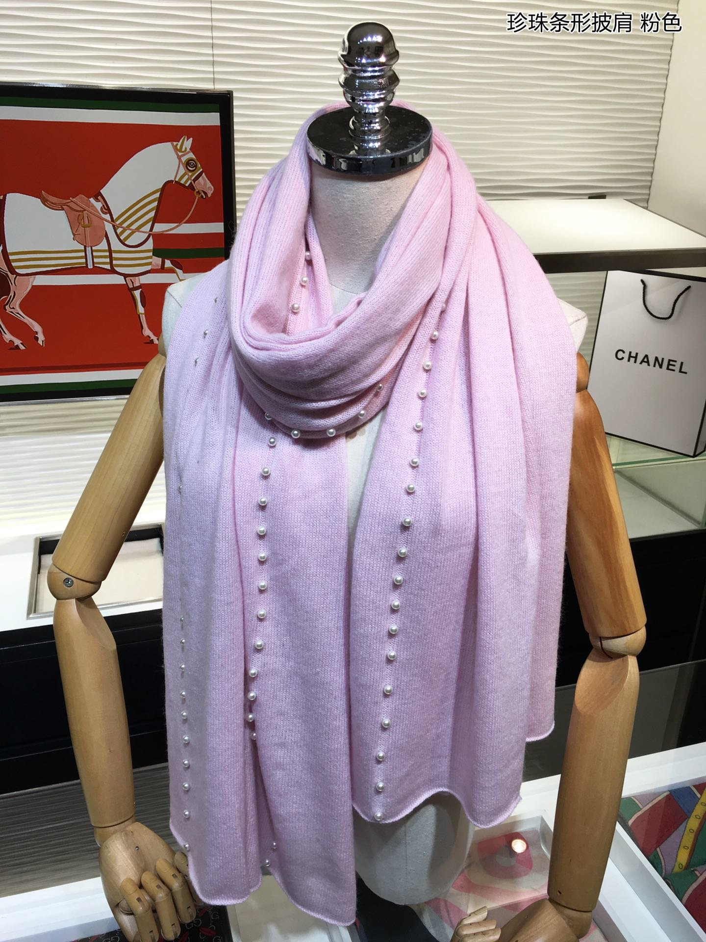 Replica Chanel Women Scarf 0011