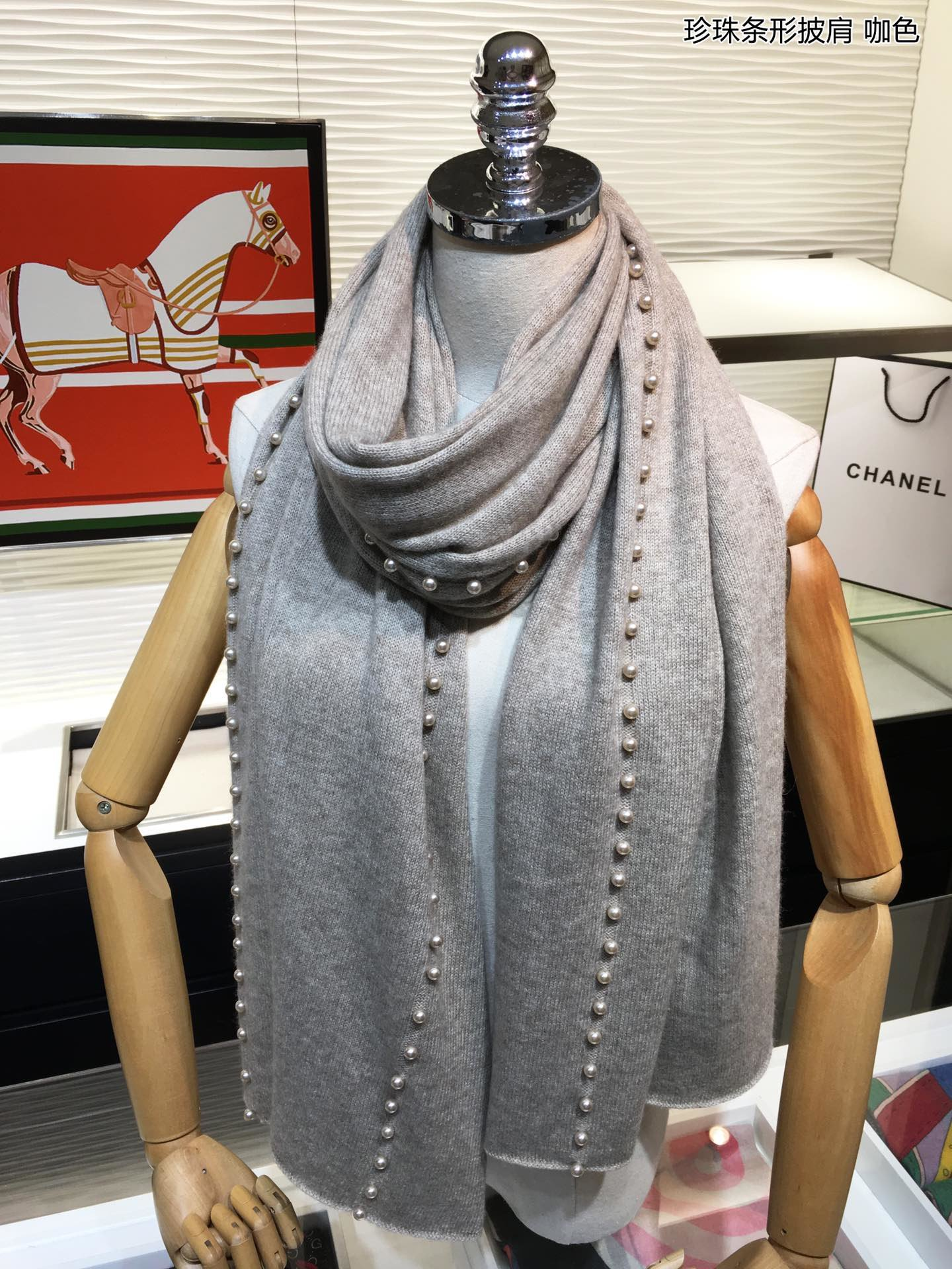 Replica Chanel Women Scarf 0012