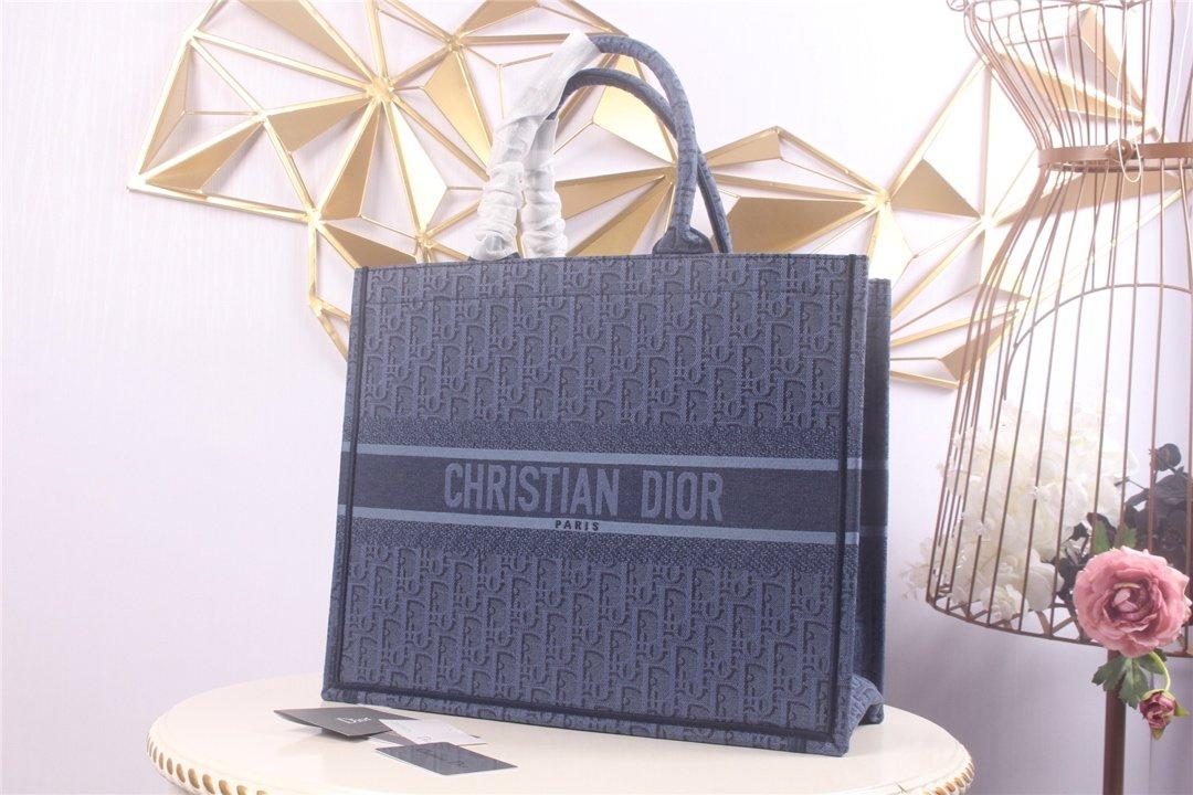 Replica Dior Book Tote Bag in Embroidered Canvas