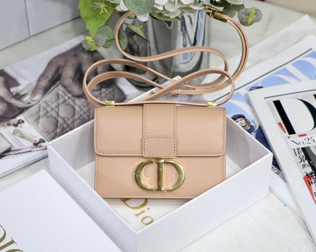 Replica Dior Mini Micro 30 Montaigne Bag Rose Box Calfskin