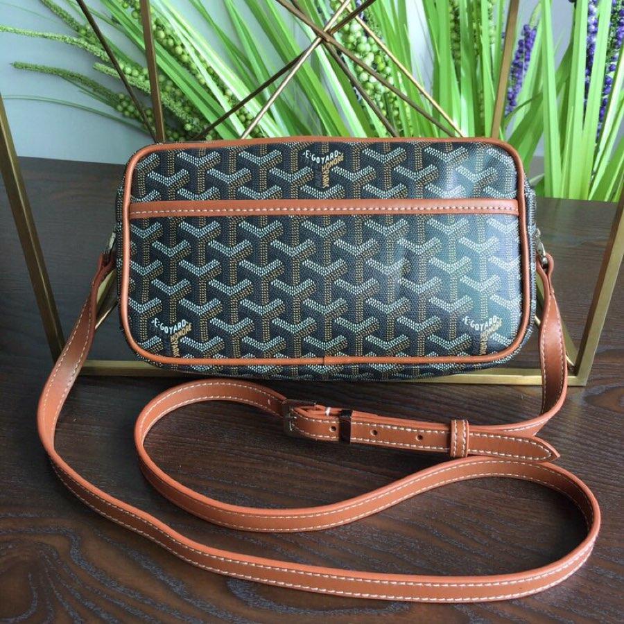 Replica GOYARD Women Neutral Messenger Bag Brown