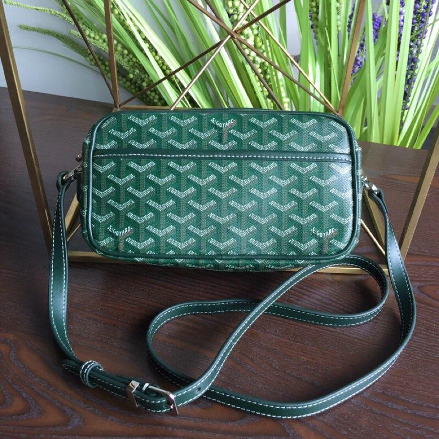 Replica GOYARD Women Neutral Messenger Bag Green