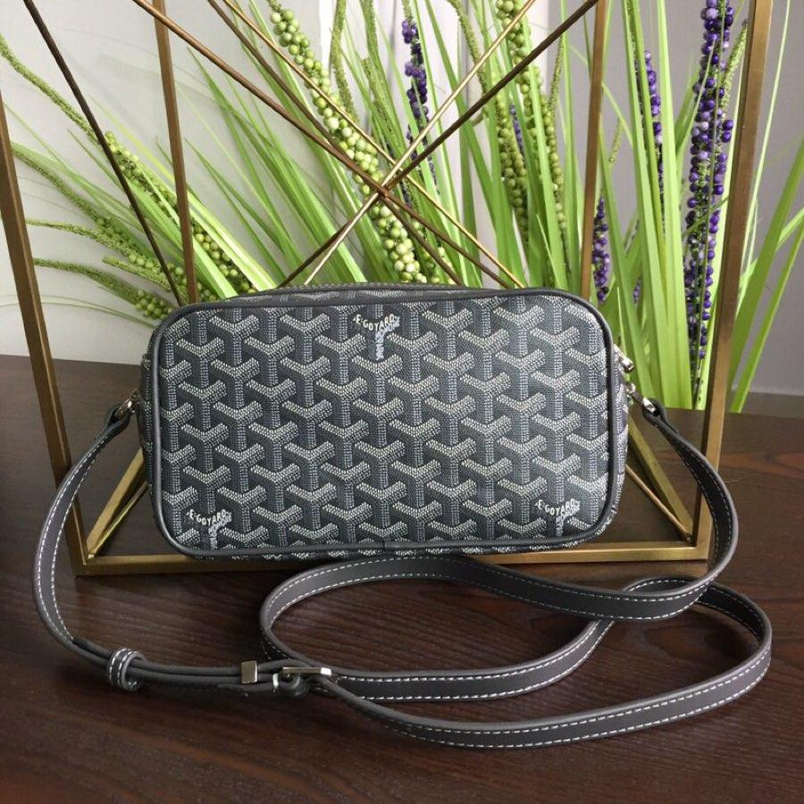Replica GOYARD Women Neutral Messenger Bag Grey