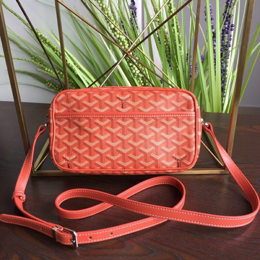 Replica GOYARD Women Neutral Messenger Bag Orange