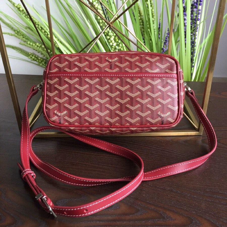 Replica GOYARD Women Neutral Messenger Bag Red