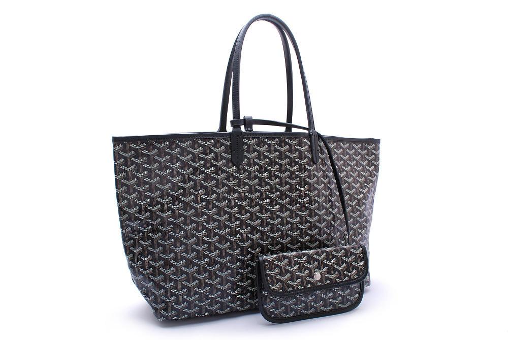 Replica Goyard Saint Louis PM Tote Bag Black
