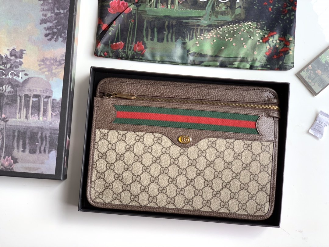 Replica Gucci 597619 Men Ophidia GG Pouch