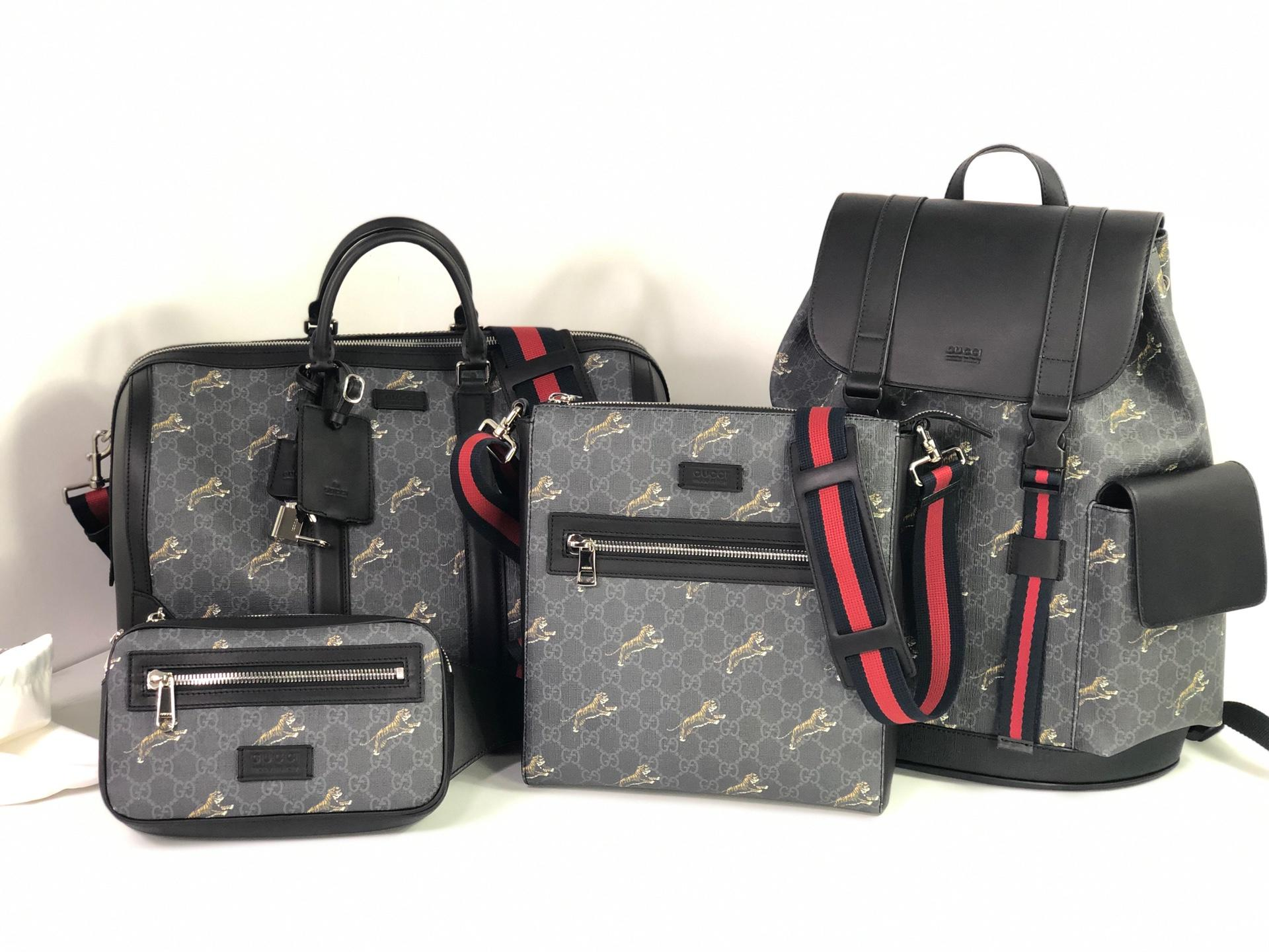 Replica Gucci GG Supreme Tigers Bags set