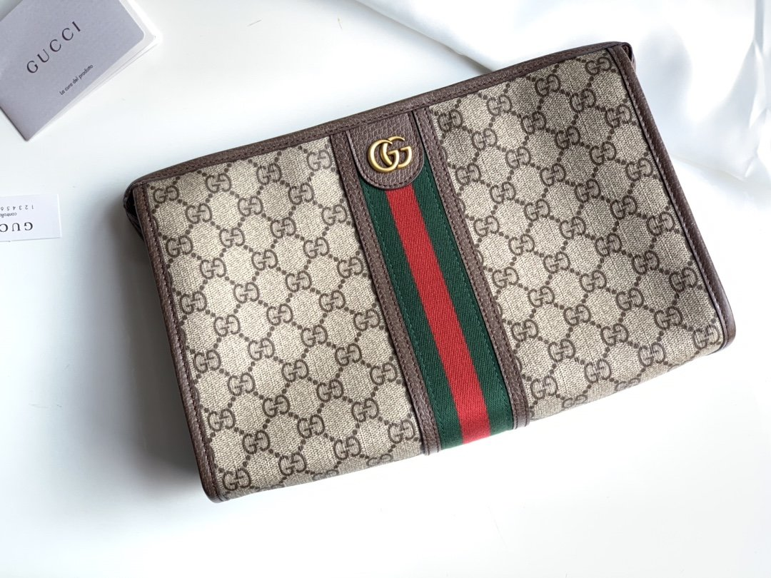 Replica Gucci Men Ophidia GG Toiletry Case 598234