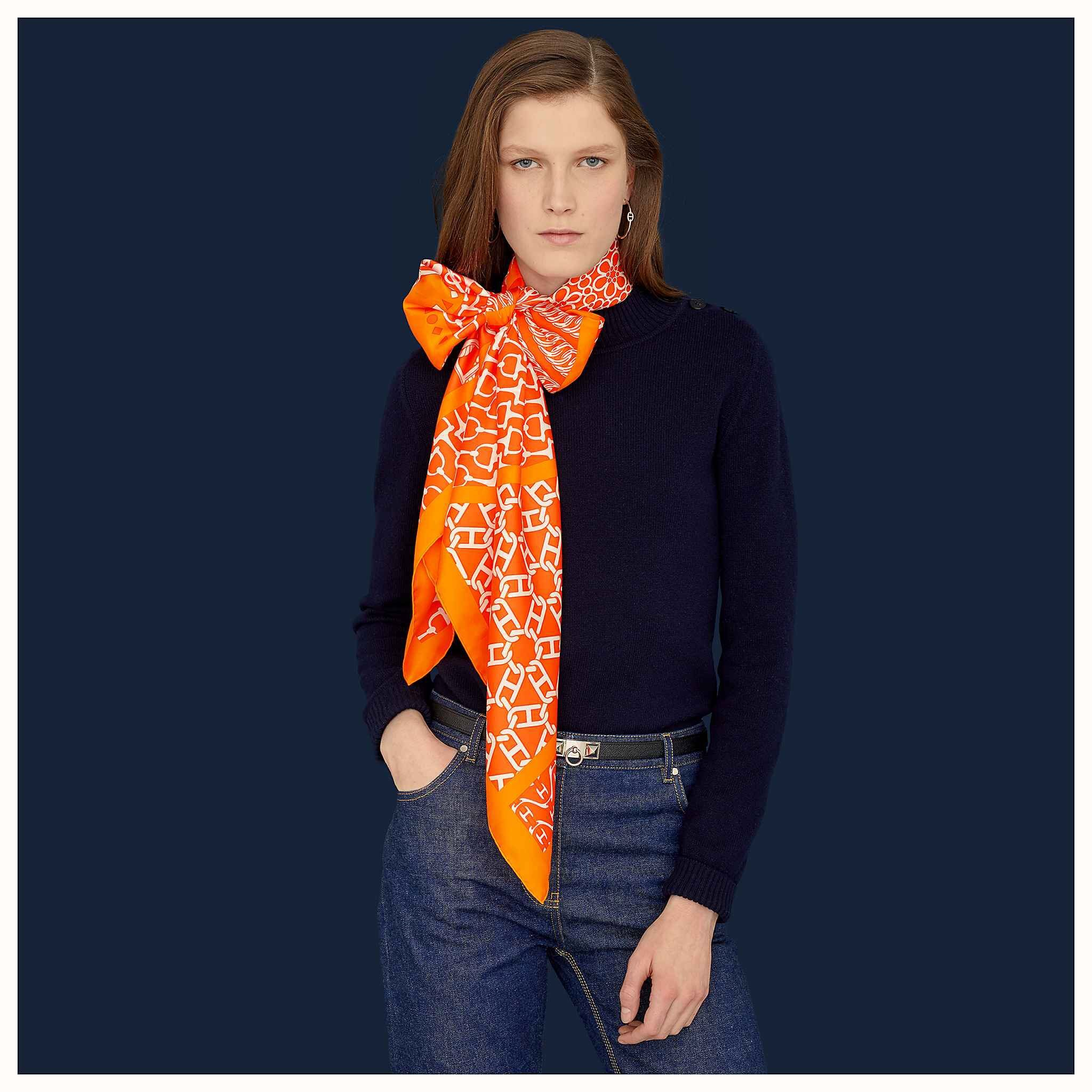 Replica Hermes Women Scarf Real Silk and Cashmere 0009
