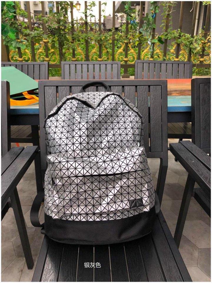 Replica Issey Miyake Kuro Daypack Backpack Silver Gray
