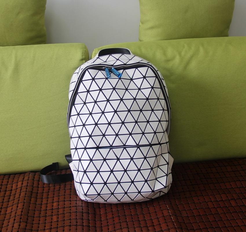 Replica Issey Miyake Sherpa Backpack White