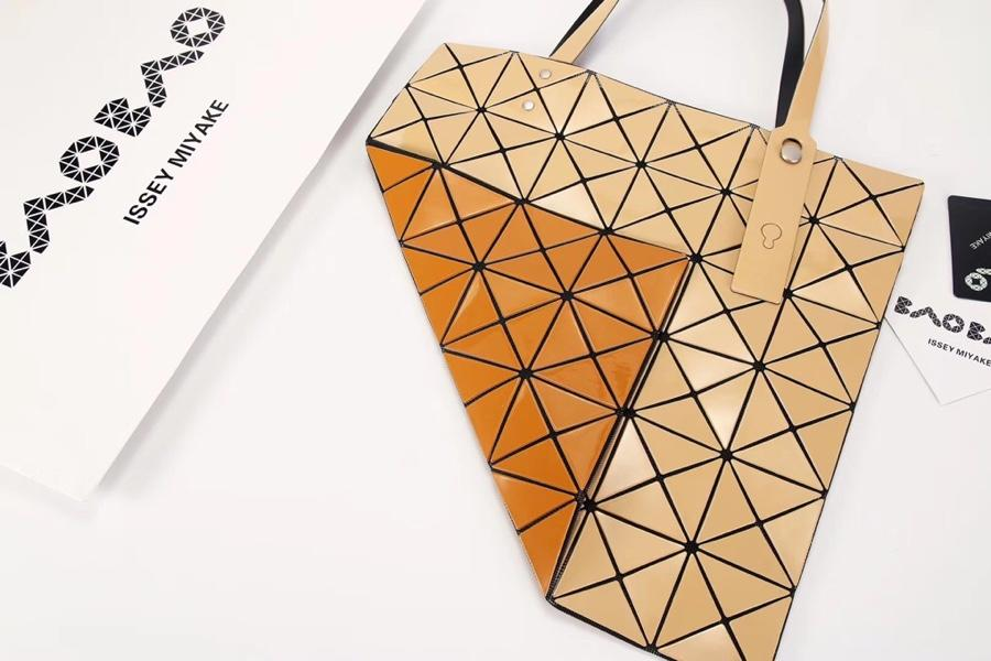 Replica Issey Miyake Women Bao Bao Shopping Bag Gold