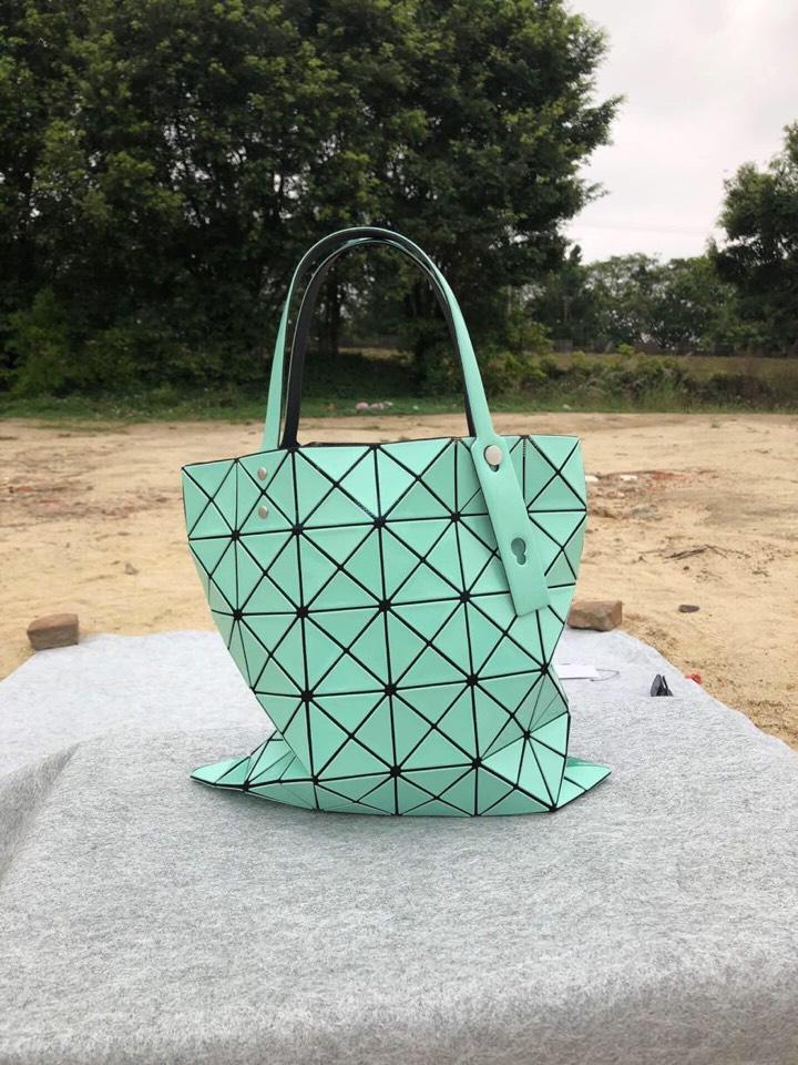 Replica Issey Miyake Women Bao Bao Shopping Bag Green