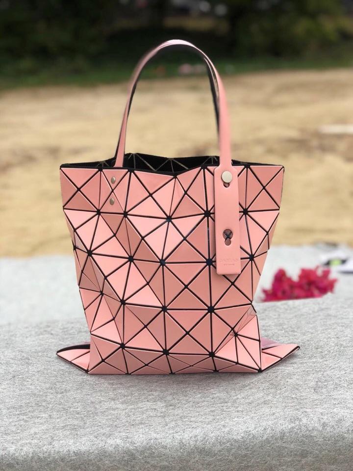 Replica Issey Miyake Women Bao Bao Shopping Bag Pink
