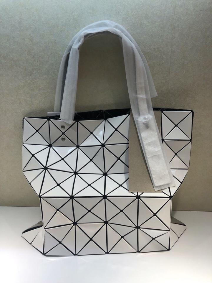 Replica Issey Miyake Women Bao Bao Shopping Bag White