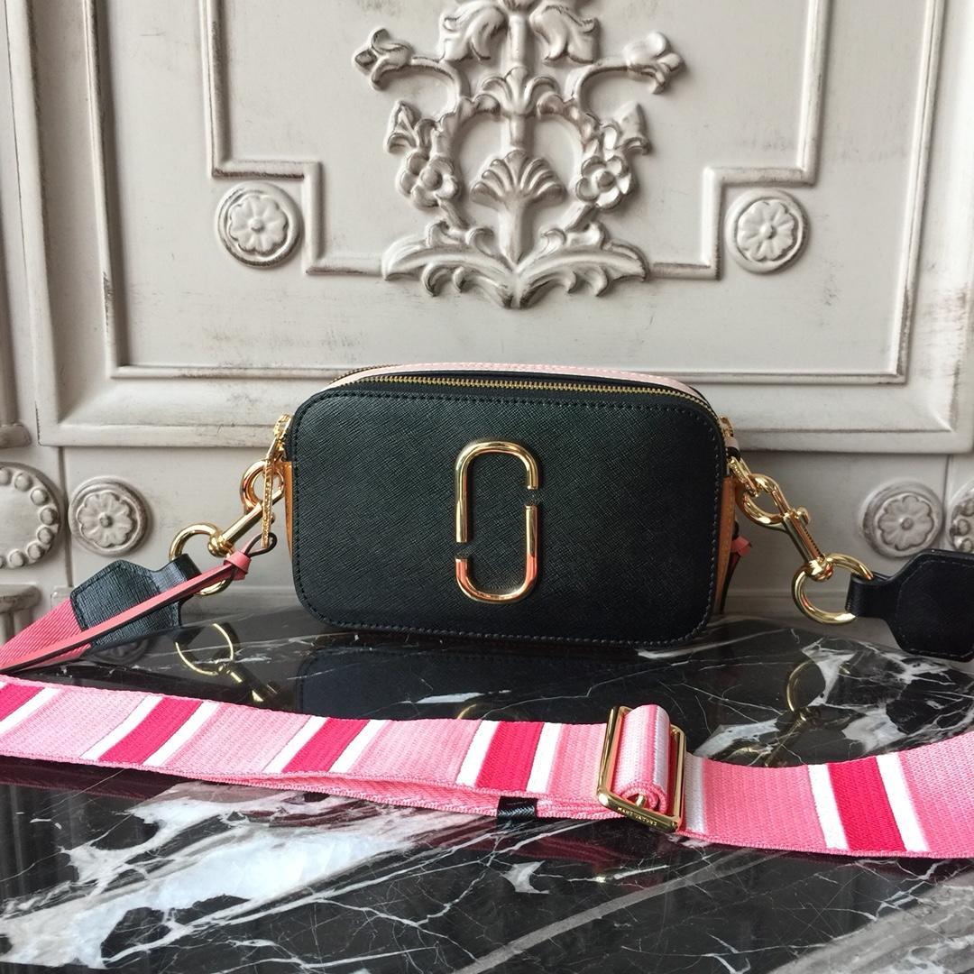 Replica Jacobs Snapshot Small Bag Black Pink