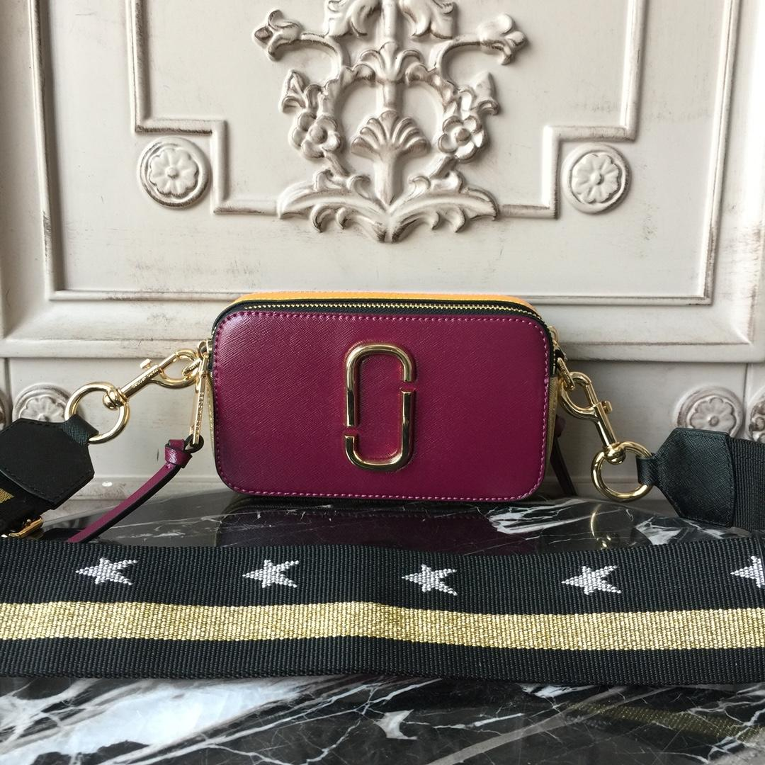 Replica Jacobs Snapshot Small Bag Wine Red