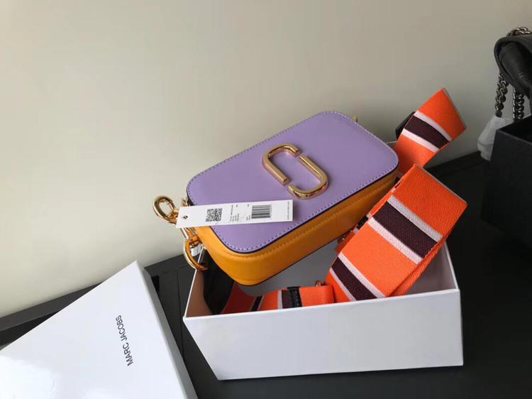 Replica Jacobs Snapshot Small Camera Bag Purple Yellow