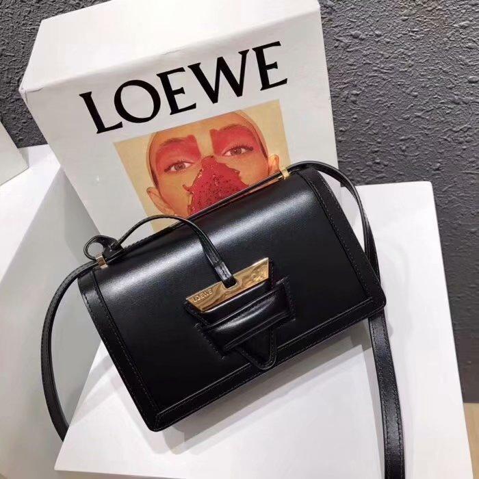 Replica Loewe Barcelona Small Bag Black Original Quality