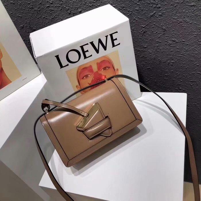 Replica Loewe Barcelona Small Bag Mink Color Original Quality