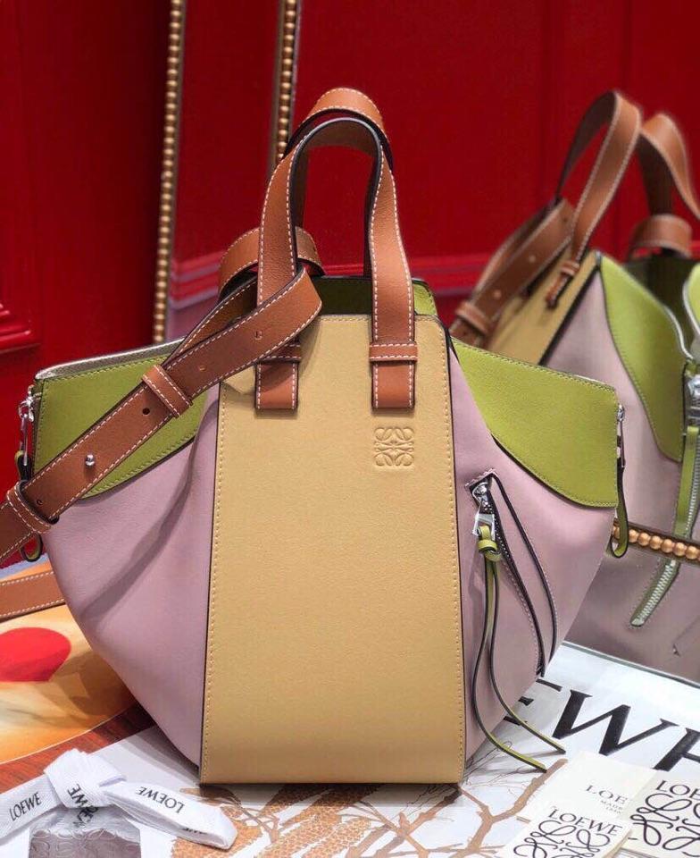 Replica Loewe Women Hammock Small Bag Lilac Gold