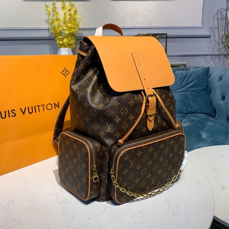 Replica Louis Vuitton Men Backpack Trio in Monogram Canva M44658