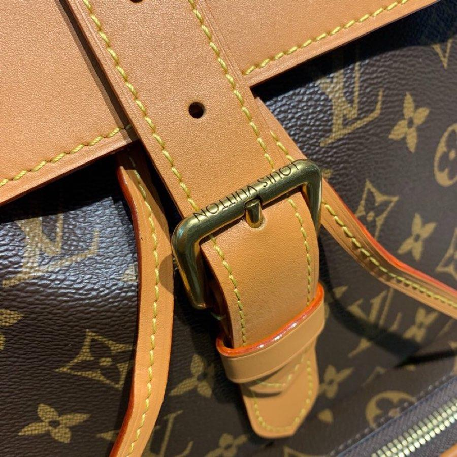 Replica Louis Vuitton Men Backpack Trio in Monogram Canva M44658