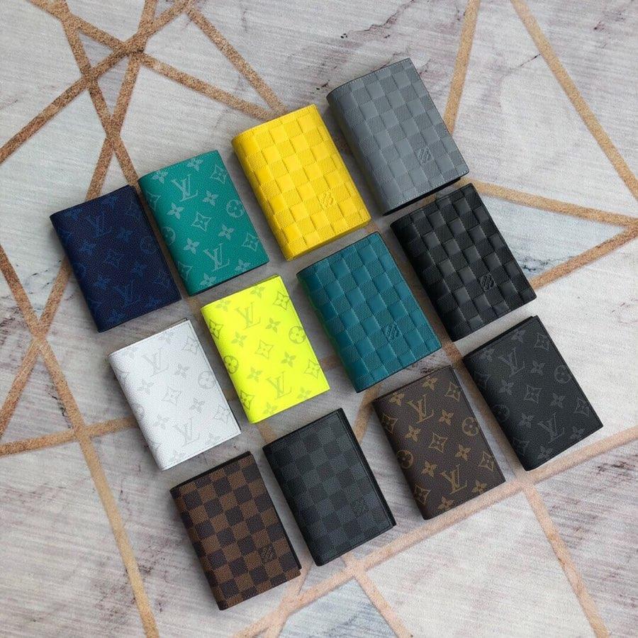 Replica Louis Vuitton Men Passport Cover Monogram