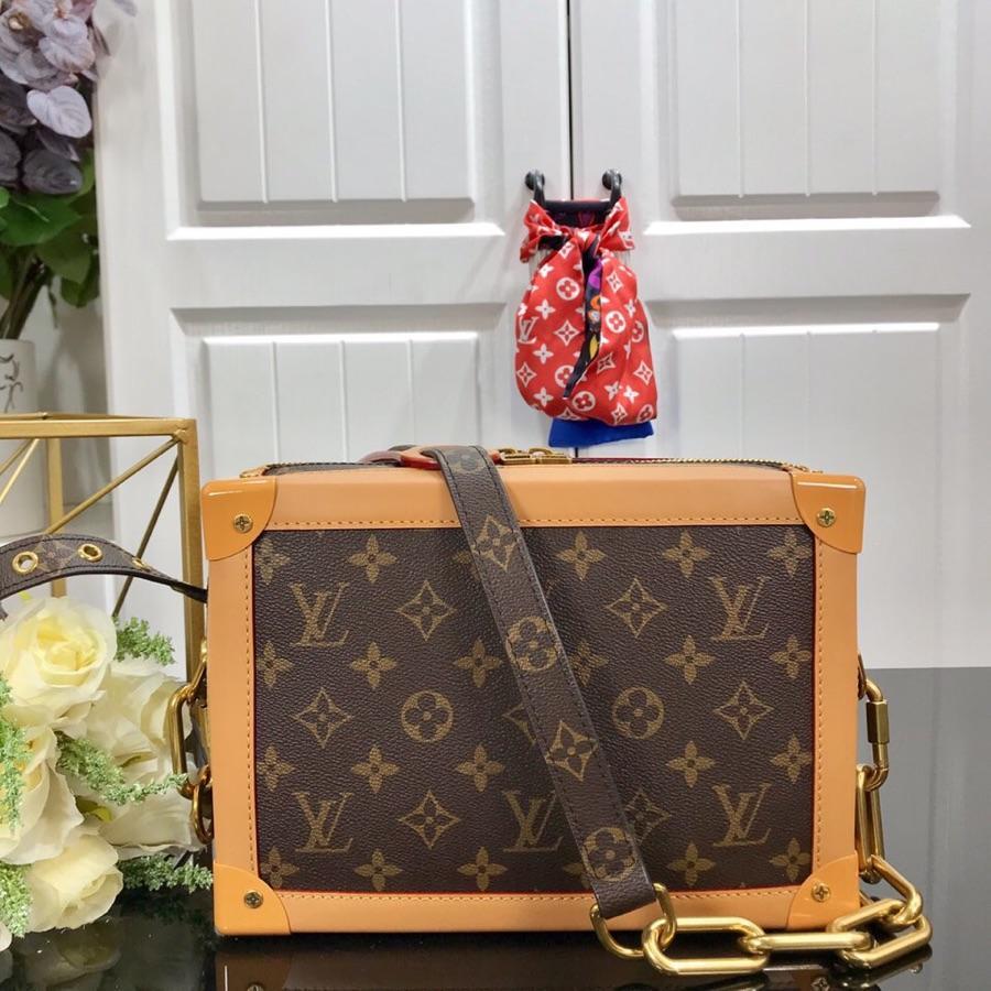 Replica Louis Vuitton Men Reimagined as a Supple Soft Trunk Messenger Bag M44478