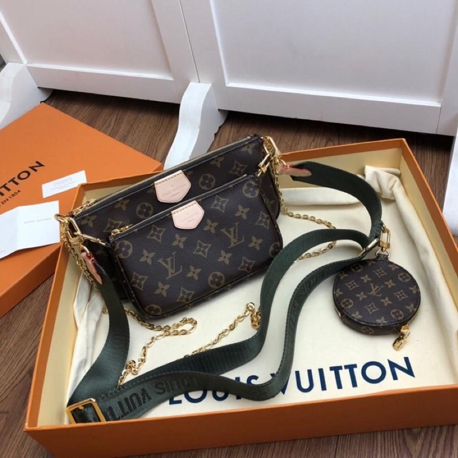 Replica Louis Vuitton Women 3 Em 1 Small Bag Monogram Canvas  M44823