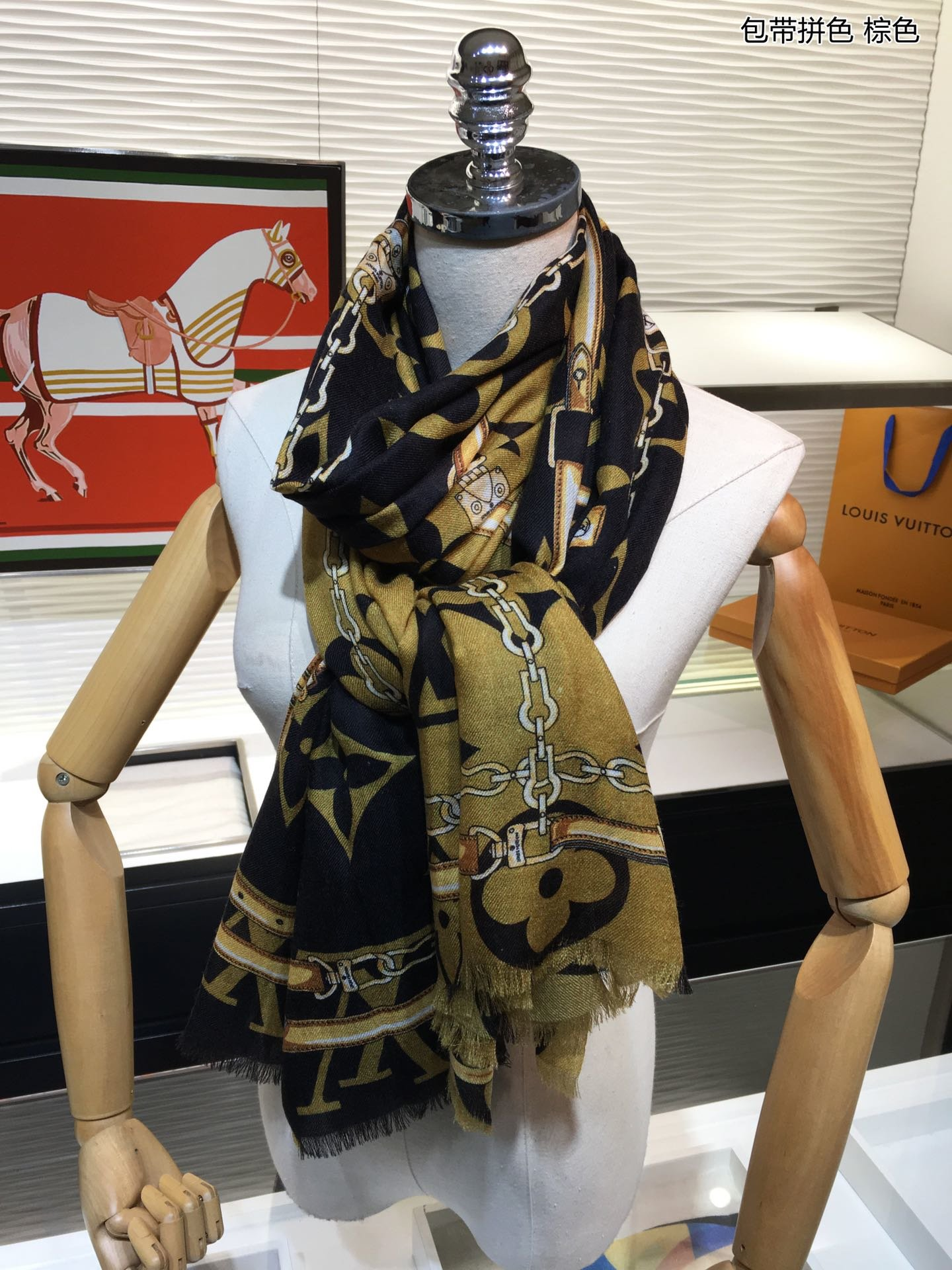 Replica Louis Vuitton Women Scarf 0044