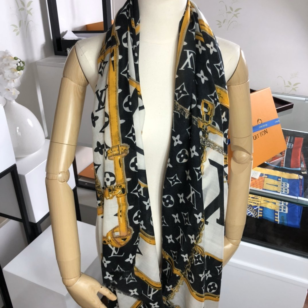 Replica Louis Vuitton Women Scarf Cashmere 0011