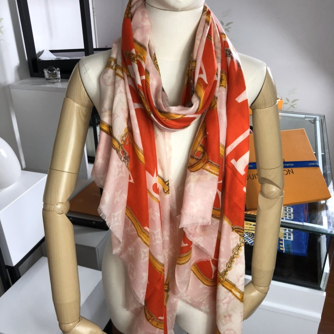 Replica Louis Vuitton Women Scarf Cashmere 0012
