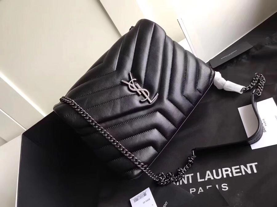 Replica Saint Laurent Loulou Small In Matelasse Y Leather Chain Strap