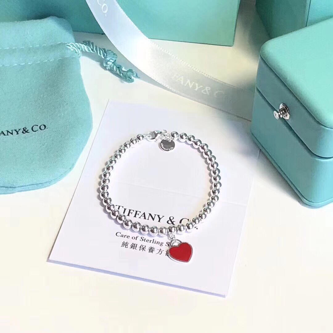 Replica Tiffany Classics Heart Bracelet 001