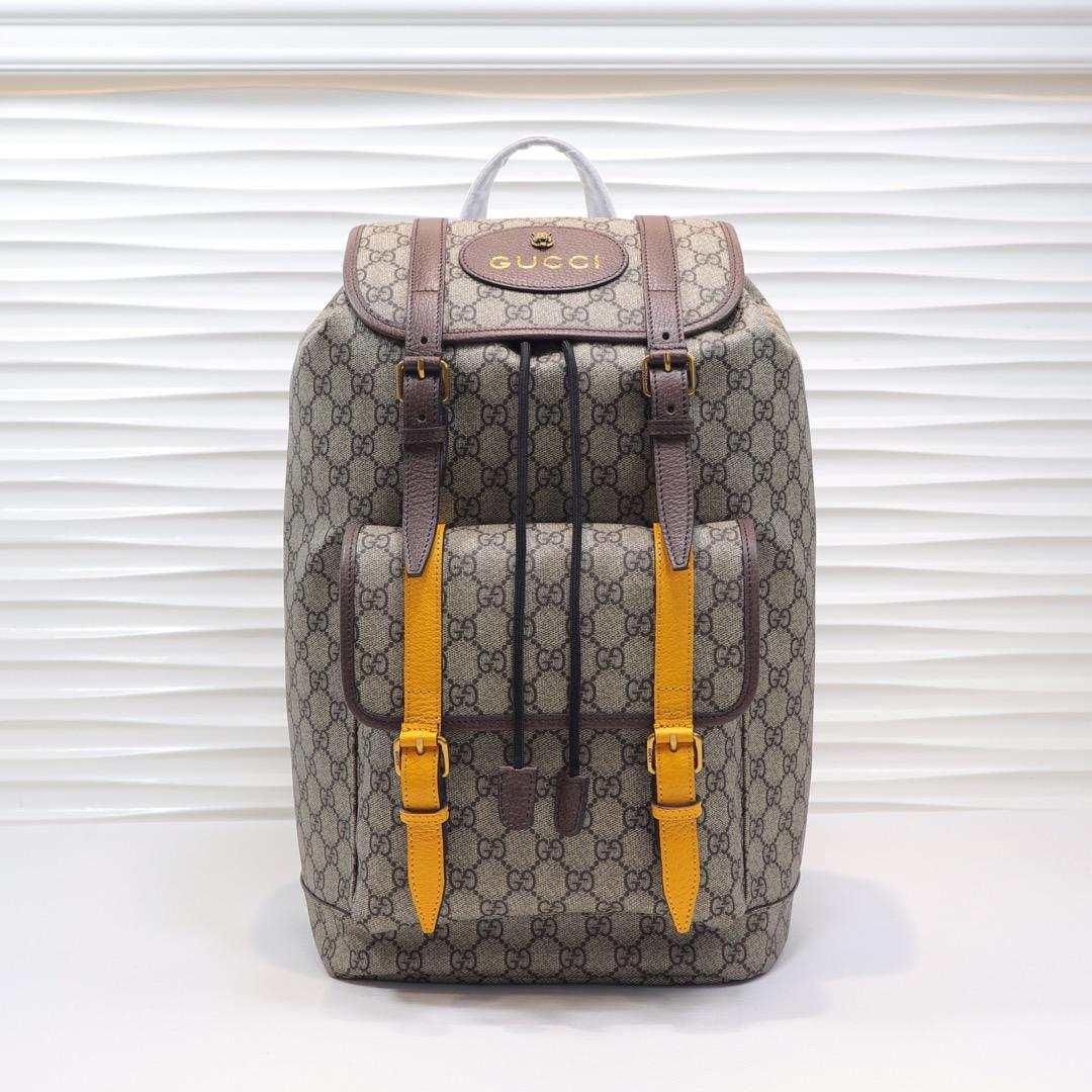 Top Quality Gucci Men Soft GG Supreme Backpack 473869