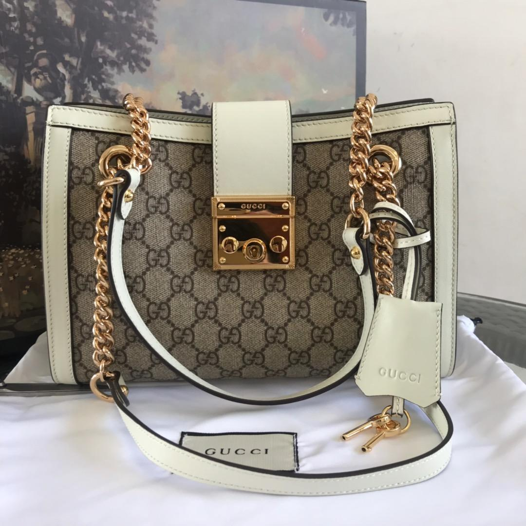 Top Quality Gucci Women Padlock GG Medium Shoulder Bag 479197